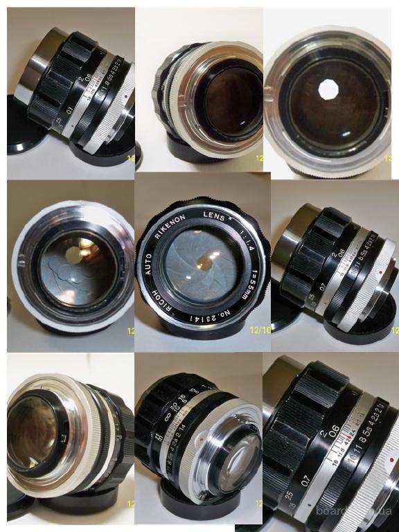 Ricoh Auto Rikenon 1:1,4  55mm  для Nikon. Cветосильный объектив