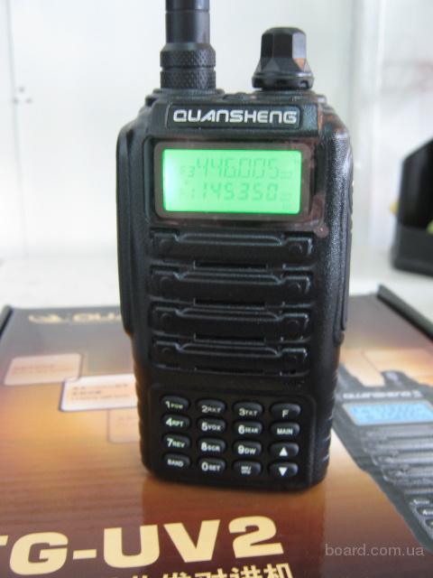 Рация, радиостанция Quansheng TG-UV2, Dual Band, 5W