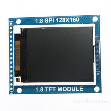 """Модуль TFT LCD 1,8"""" SPI 128x160 для Arduino"""