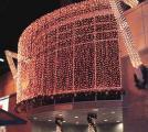 Новогоднее оформление магазинов, световое оформление зданий. Монтаж световых гирлянд.