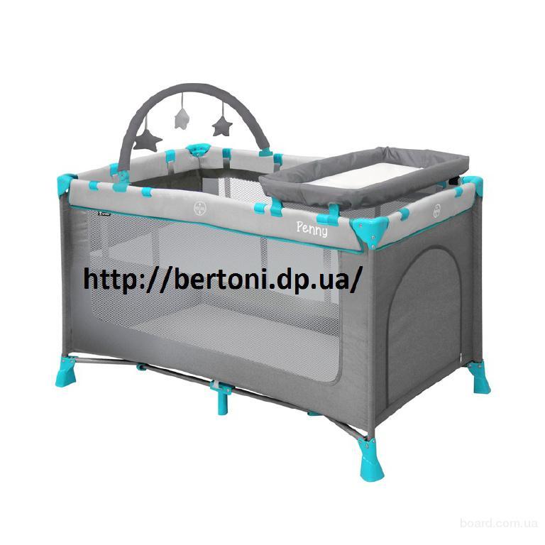 Детская кровать-манеж Bertoni penny 2 +