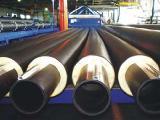 Труба стальная в ПЭ в оболочке диаметр 76/140 мм