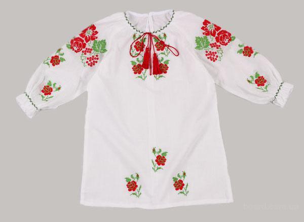 """Сорочка для хрещення """"Калинка"""""""