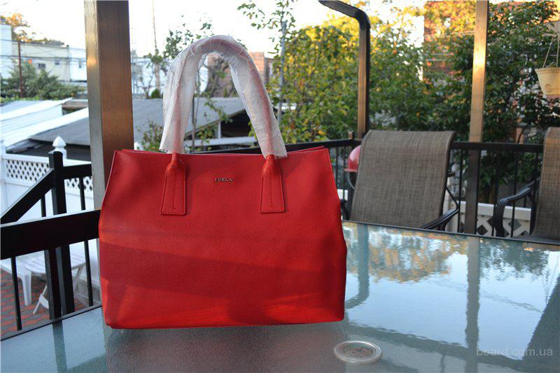 Сумка Furla Red Leather Papermoon, оригинал