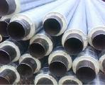 Труба стальная в спиро оболочке диаметр 76/140 мм