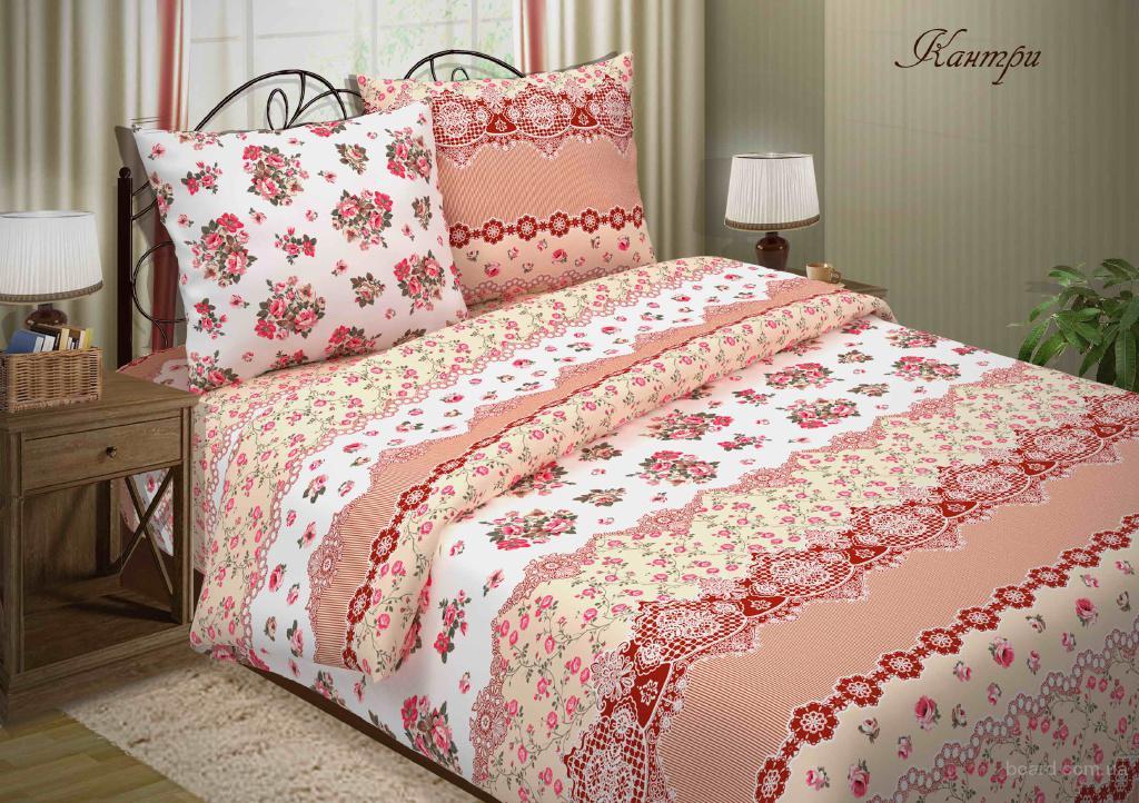Купить комплект постельного белья, Кантри (поплин)