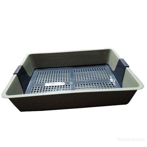 Туалет для кошки Savic Cat Tray лоток для кошек, 42х25,5 см.