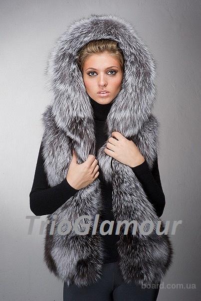 Роскошные меховые жилеты из меха норки, лисы, чернобурки в Донецке