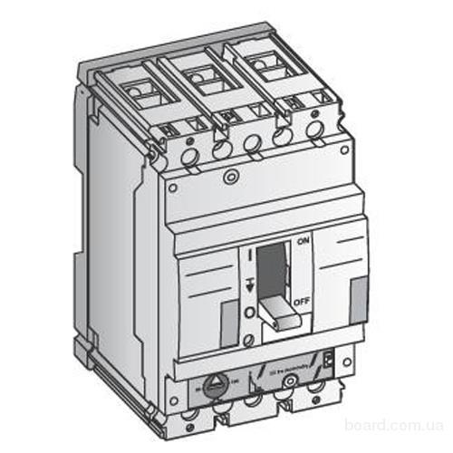 Выключатель автоматический 63А, 3 полюса, 36 кА.