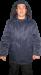 Рабочая ватная куртка с капюшоном