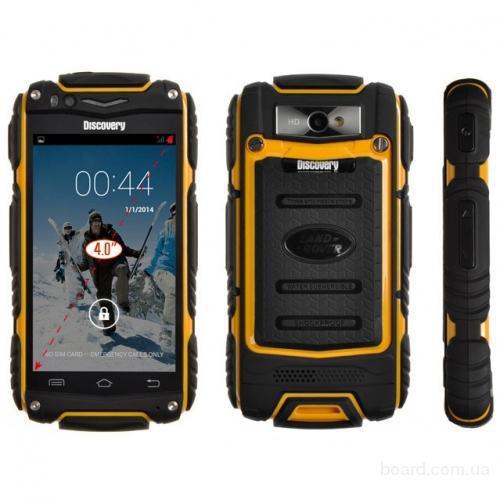 Защищенный смартфон Discovery V8 гарантия 3 месяца, 2800 мАч