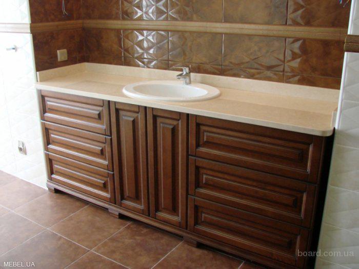 Мебель из дерева в ванную