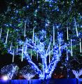 Новогодняя гирлянда падающая капля, падающий дождь купить Киев, гирлянды на деревья