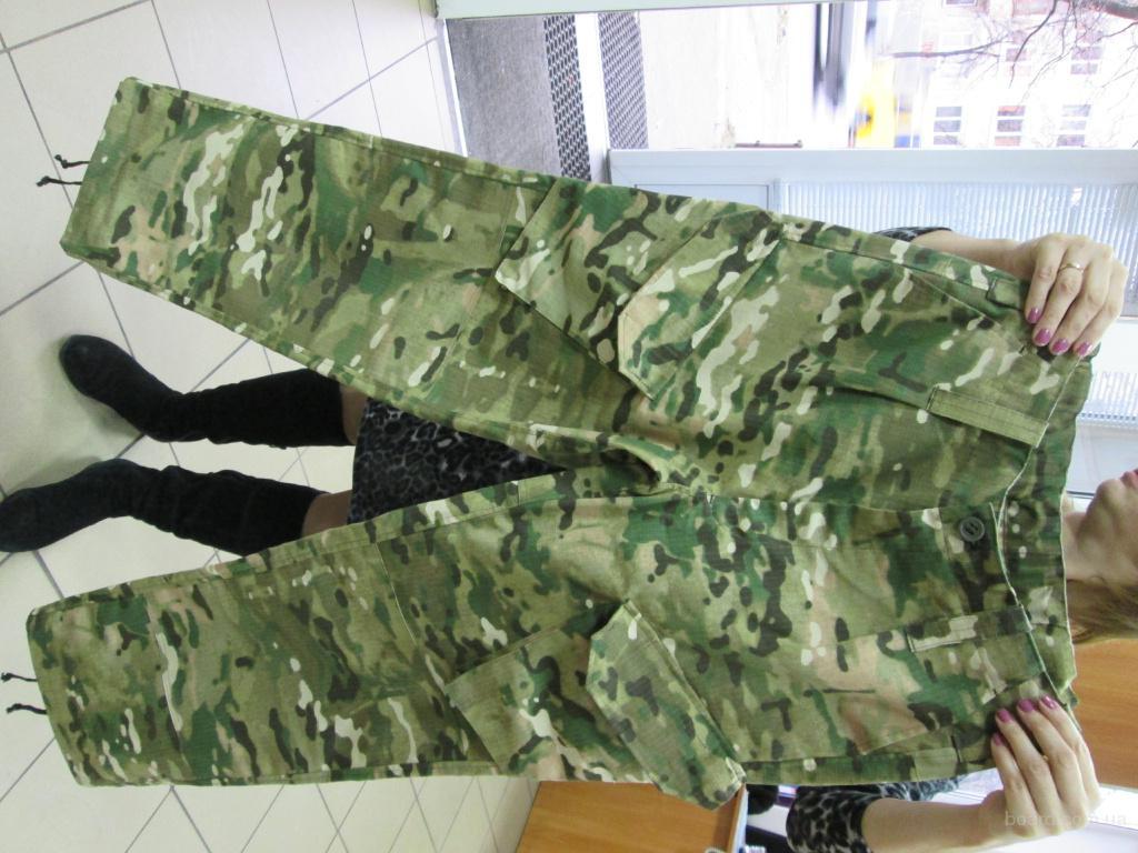 брюки камуфлированные