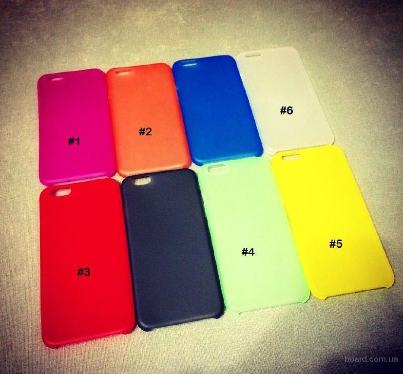 """Ультратонкие матовые чехлы накладки на iPhone 6 4.7"""""""