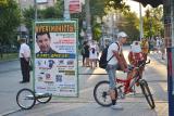 Недорогая наружная – Велореклама (велоборд, промобайк). Купить борд