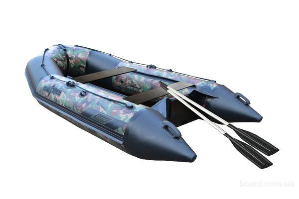 Сланевая моторная лодка со стационарным транцем (Аквастар) AquaStar C-310 камуфляж