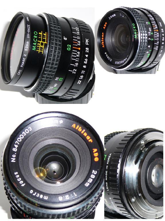 Мануальные 28mm 1:2.8 для Pentax