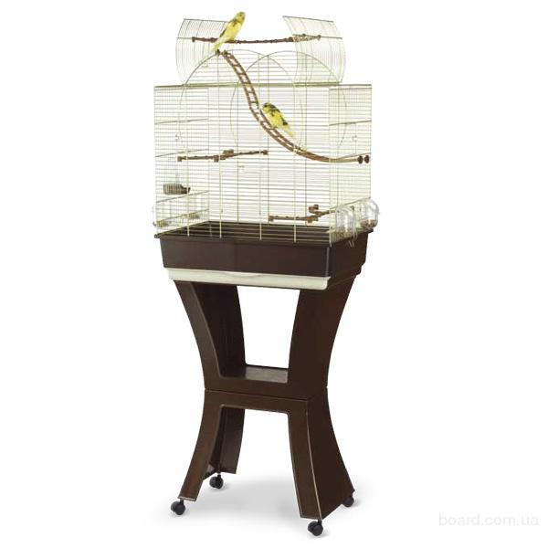 Клетки для попугаев Imac Матильда (Matilde) с подставкой 58*38*71*143 см