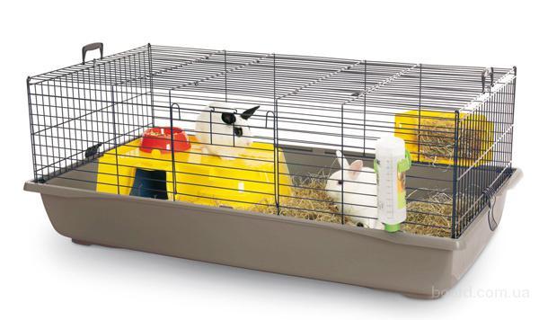 Клетки для кроликов Savic Неро 4 ДеЛюкс (Nero 4 De Luxe)118*64,5*47 см