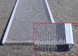 Сетка тканая оцинкованная стороны ячейки 0,63 0,8 1 1,2 1,4 2 , 2,5 , 10 рулон от 1000мм
