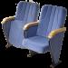 Кресла для актового зала 30шт