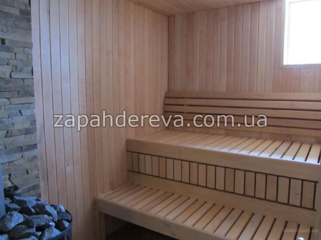 Лежак для сауны, брус полок Полтава