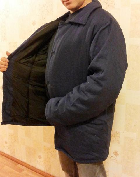 Куртка ватная утепленная