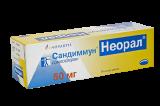 Сандиммун (Циклоспорин) Неорал производство novartis 50мг