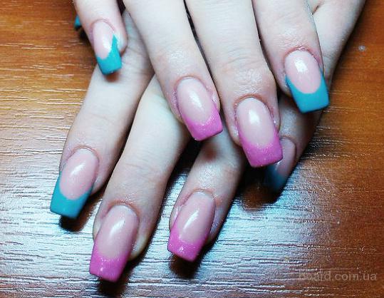 Наращивание ногтей. Коррекция ногтей. Маникюр. Педикюр - Харьков