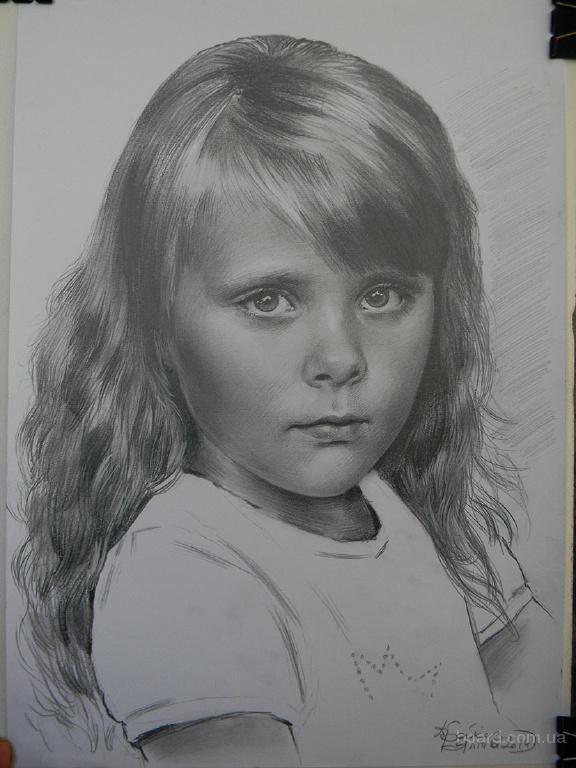 портрет карандашом вся Украина Киев Сумы