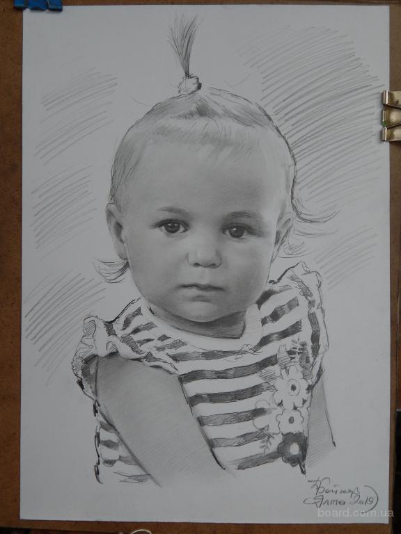портрет холст масло Одесса