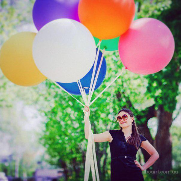 Ооочень Большие Воздушные и Гелиевые шары на Свадьбу, День рождения