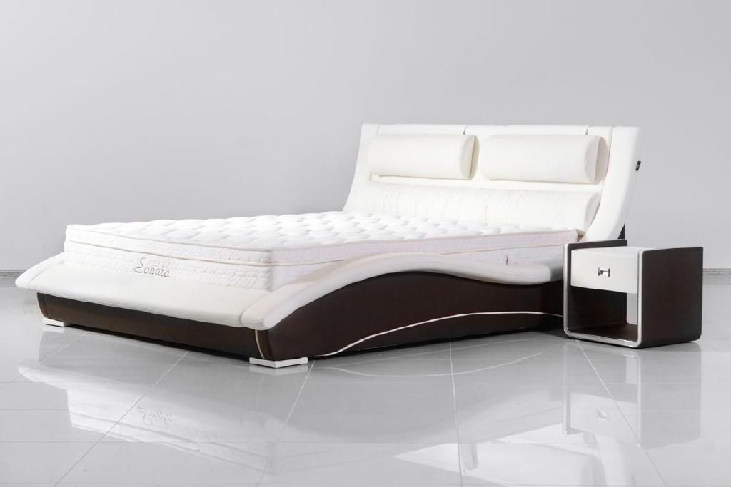 """Качественная немецкая мебель - кожаные кровати ТМ """"Sonata Mobel"""""""