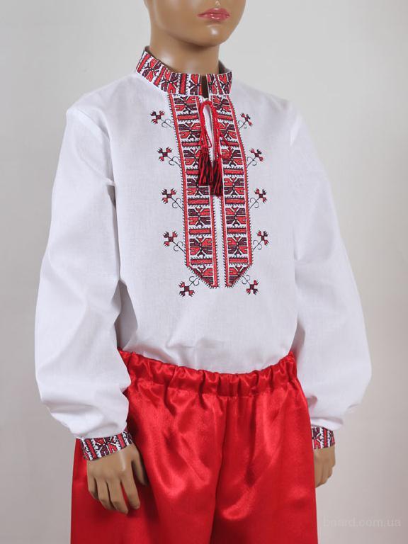 "Вишиванка ""Полуботок"" (червона)"