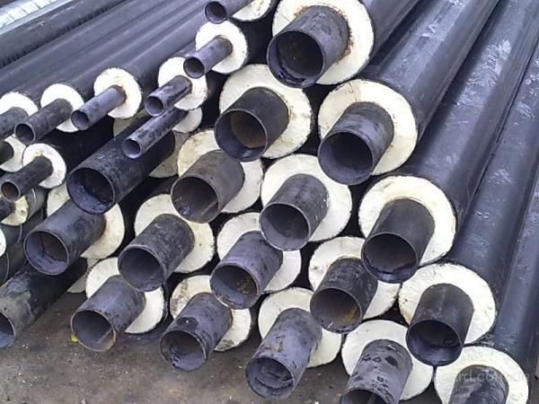 Трубы стальные теплоизолированые ПЕ оболонке и СПИРО оболонке