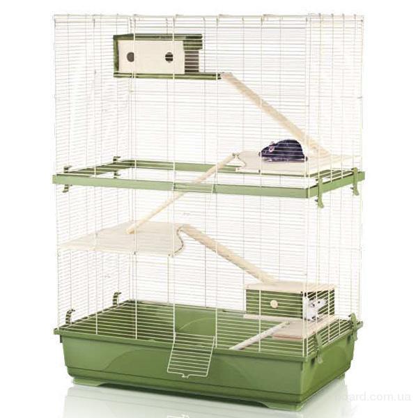 Клетка для крысы Imac Рэт 80 Дабл Вуд (Rat 80 Double Wood), 80*48,5*108,5 см