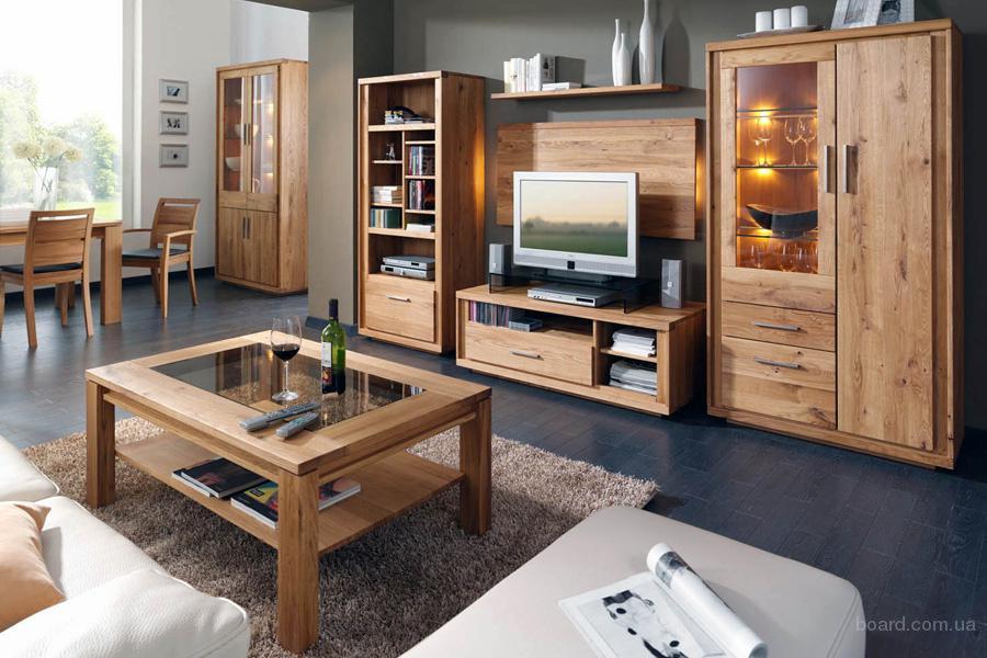 Мебель из дуба для загородных домов.