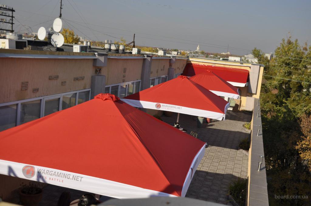 Зонты для кафе, торговли и отдыха.