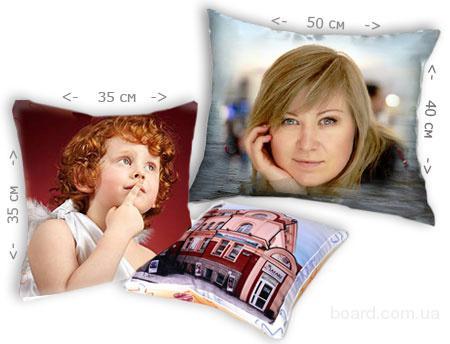 Изготовление декор-подушек с вашими фотографиями