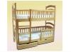 Кровать двухъярусная Карина Люкс трансформер