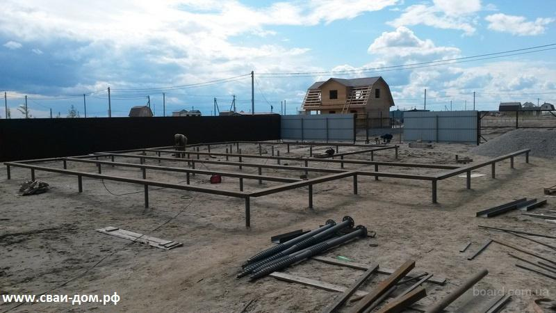 Свайный фундамент в Тюмени