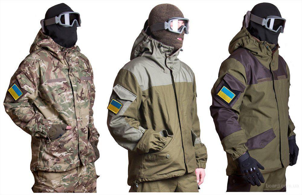 Украинский солдат будущего носит удобный костюм, шлем