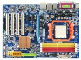 Материнская плата Gigabyte GA-M61P-S3 GeForce 6100/nForce 430, sAM2 б/у