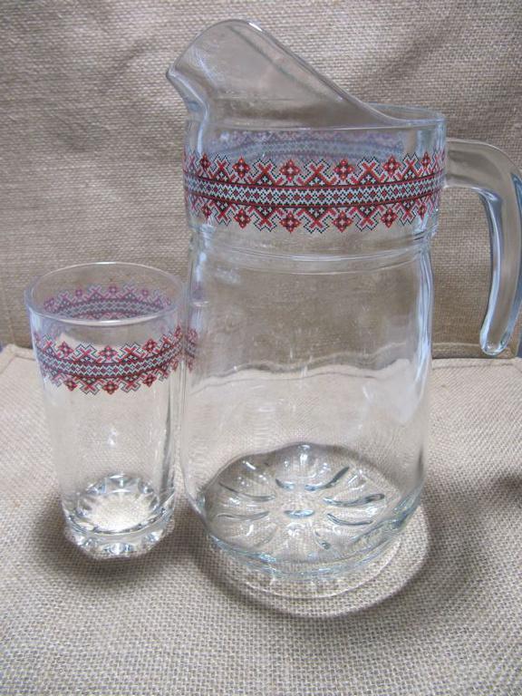 Подарочный набор со стекла