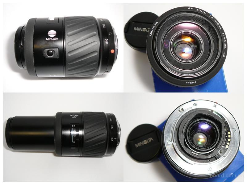 Minolta AF Zoom 70-210 mm 1:4.5-5.6 для Sony,  Автофокус отвертка