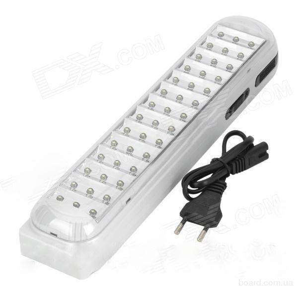 Фонарь-панель светодиодный 42 LED. Светильник ручной, настенный LED на аккумуляторе
