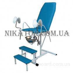 Гинекологическое кресло с пневмоприводом КГ-1М
