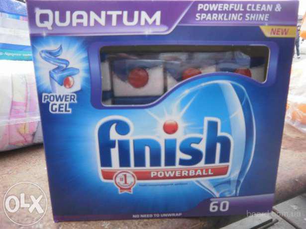 Finish quantum 60шт. (капсулы для посудомоющих машин)