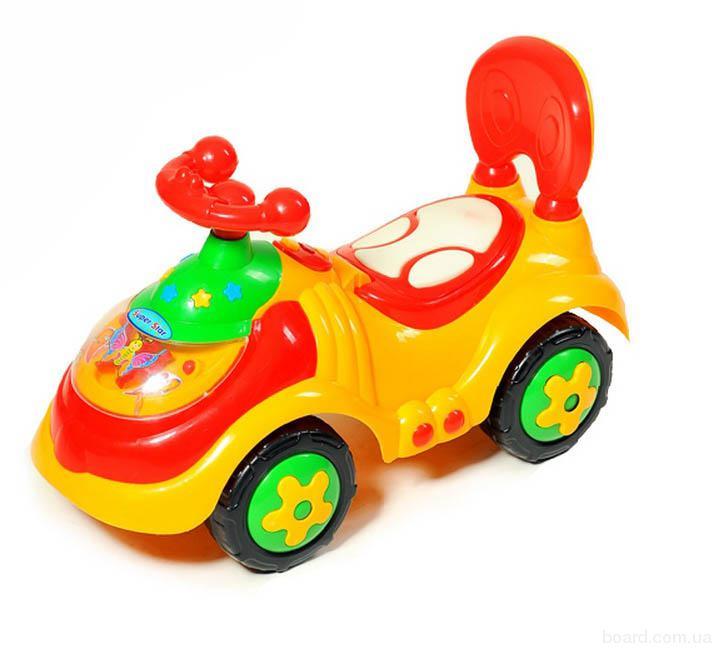 Детская каталка-толокар Машина 912